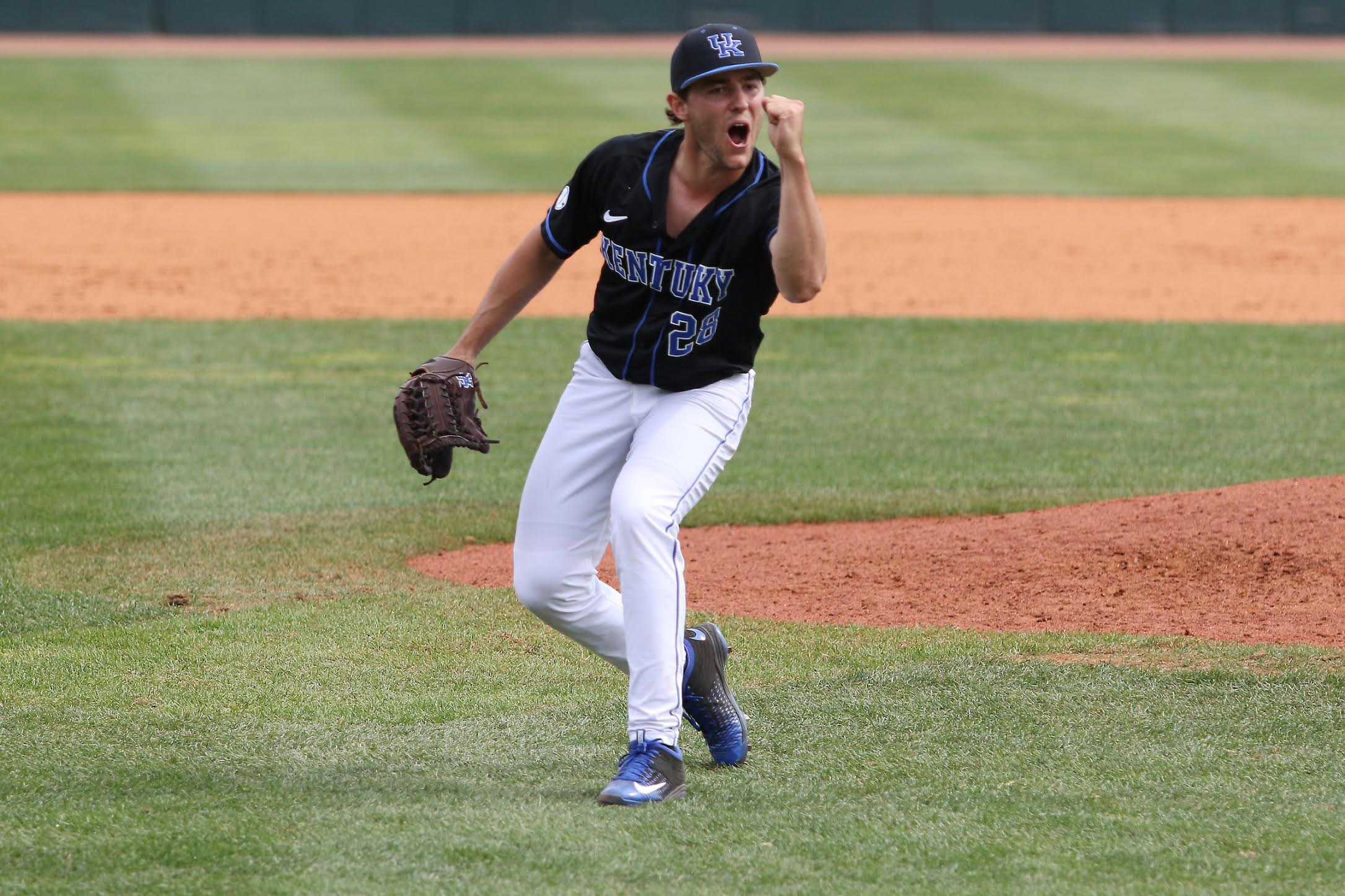 Logan Salow.  No. 19 Kentucky takes the series against Ole Miss with a 4-2 win on Saturday, March 25th, 2017 at Lexington's Cliff Hagan Stadium.  Photo by Quinn Foster   UK Athletics