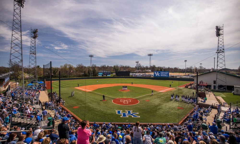 University of Kentucky baseball team falls to Vandy 6-4 on Sunday, April 2, 2017, in Lexington's Cliff Hagen Stadium.Photo by Elliott Hess | UK Athletics