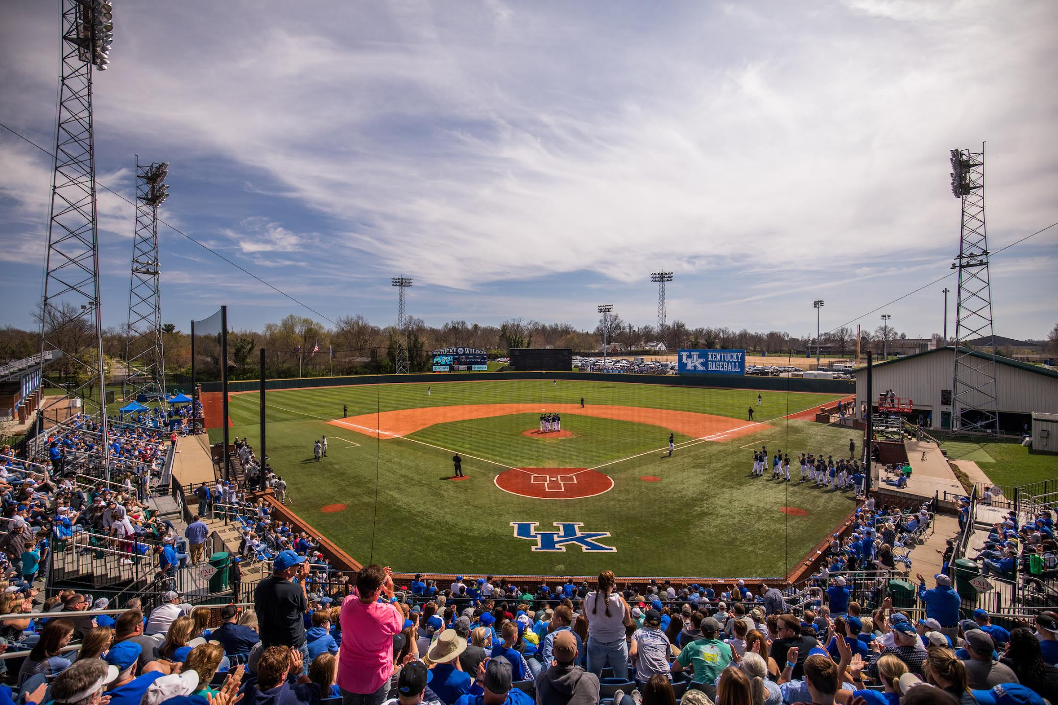 University of Kentucky baseball team falls to Vandy 6-4 on Sunday, April 2, 2017, in Lexington's Cliff Hagen Stadium.Photo by Elliott Hess | UK Athletics